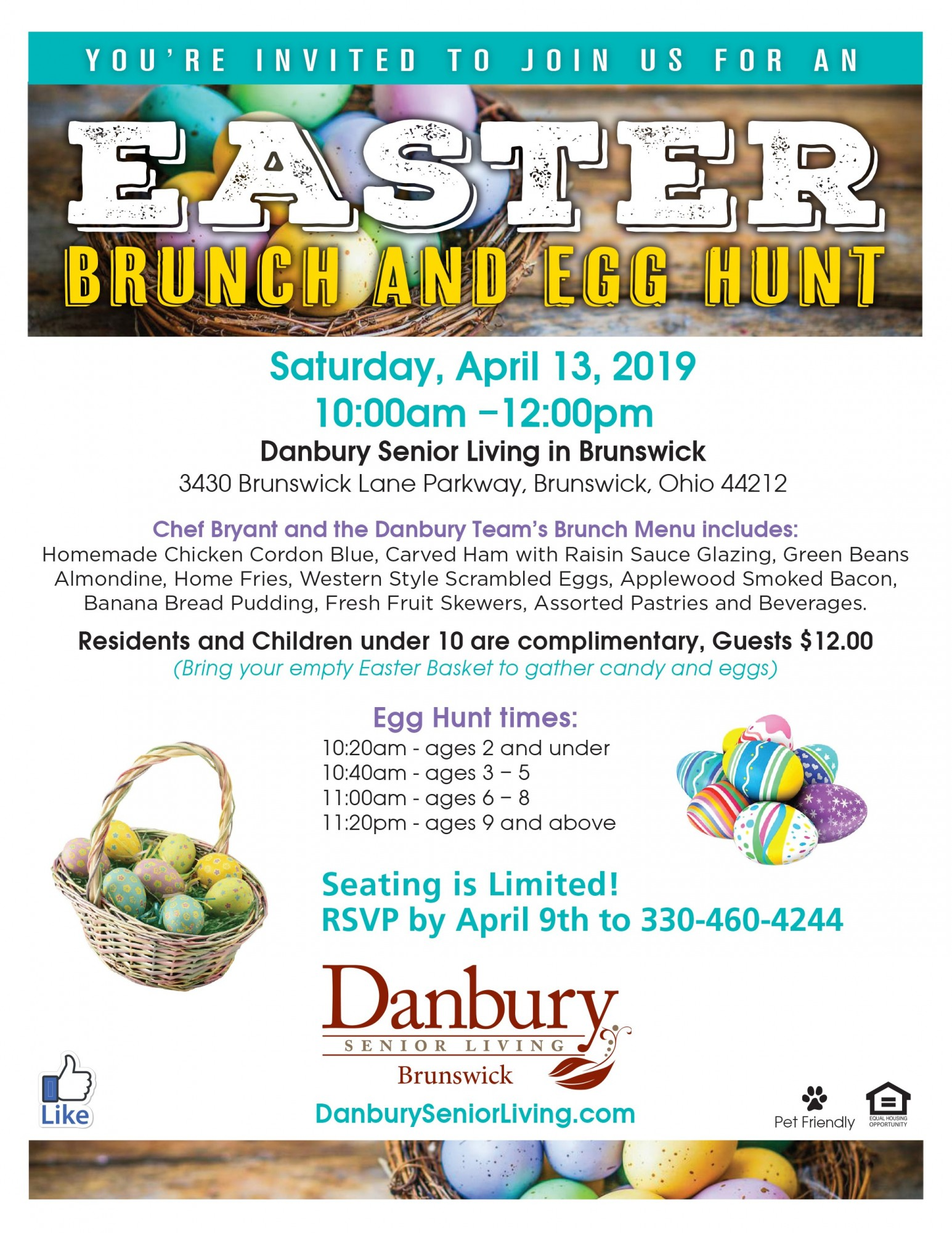 Easter Danbury Assisted Living