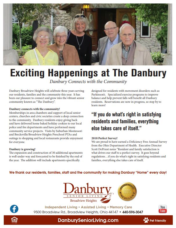 Exciting Happenings at Danbury in Broadview Heights