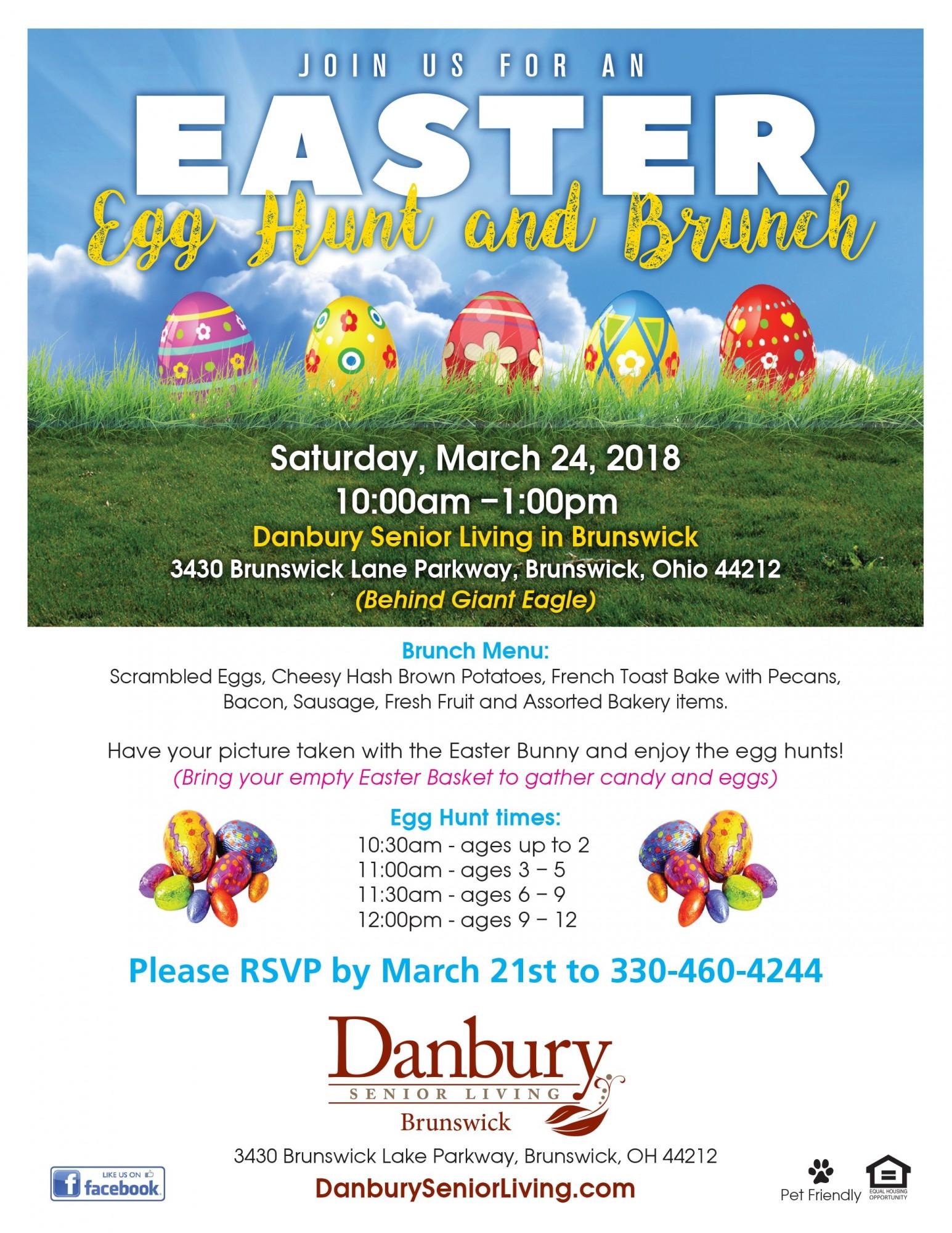 Easter Egg Hunt And Brunch