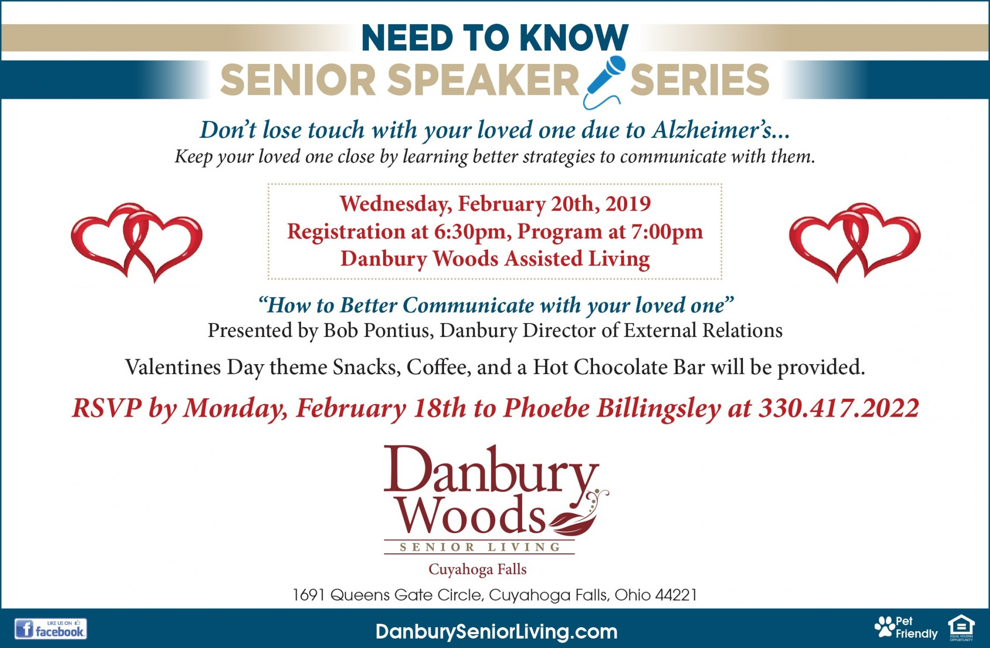 Speaker Series Quot How To Better Communicate With Your Loved
