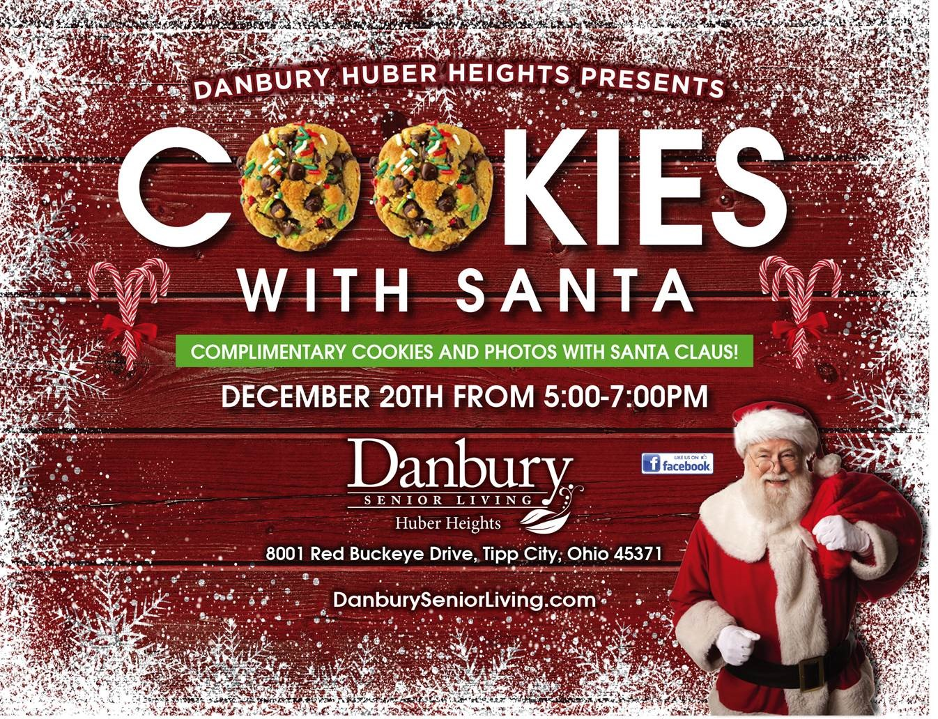 Cookies With Santa Danbury Assisted Living