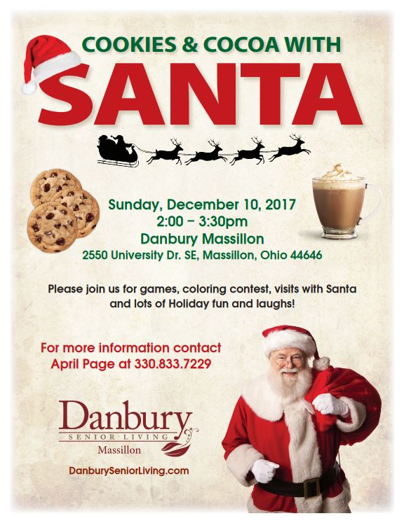 Cookies Amp Cocoa With Santa Danbury Assisted Living