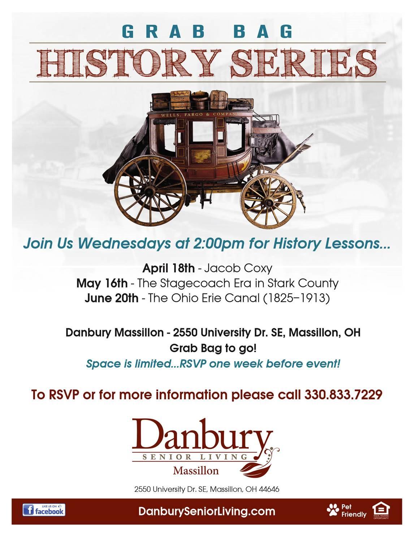 Grab Bag History Series Danbury Assisted Living