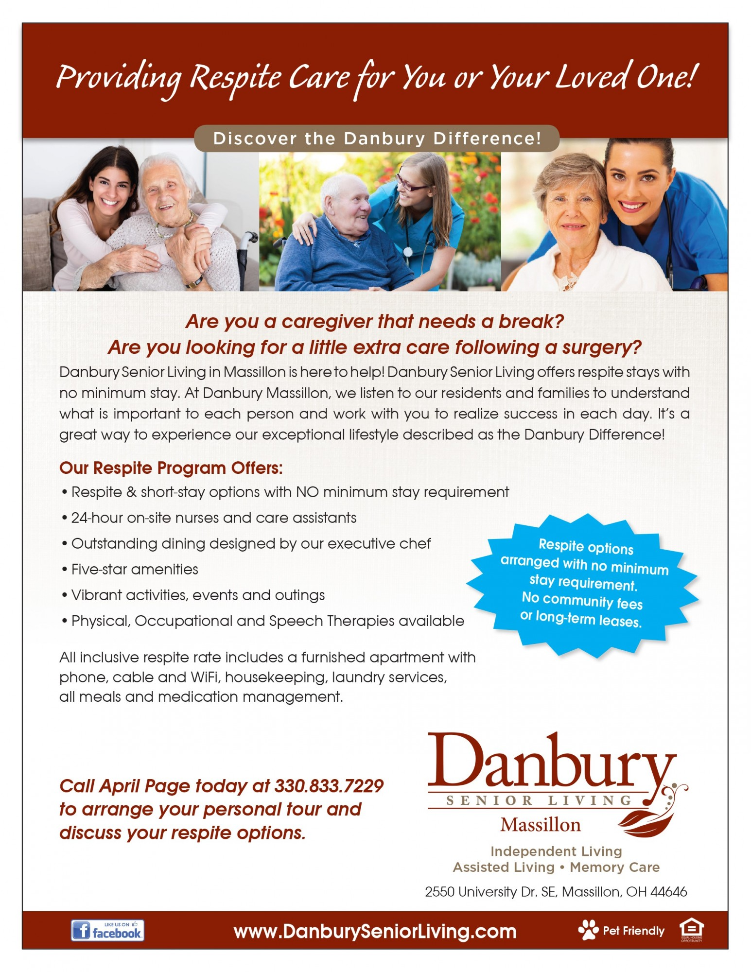 Respite Care Danbury Assisted Living