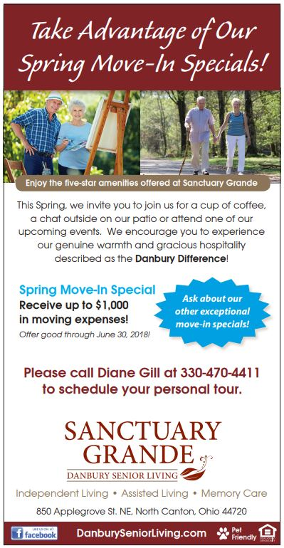 Spring Move In Specials Danbury Assisted Living