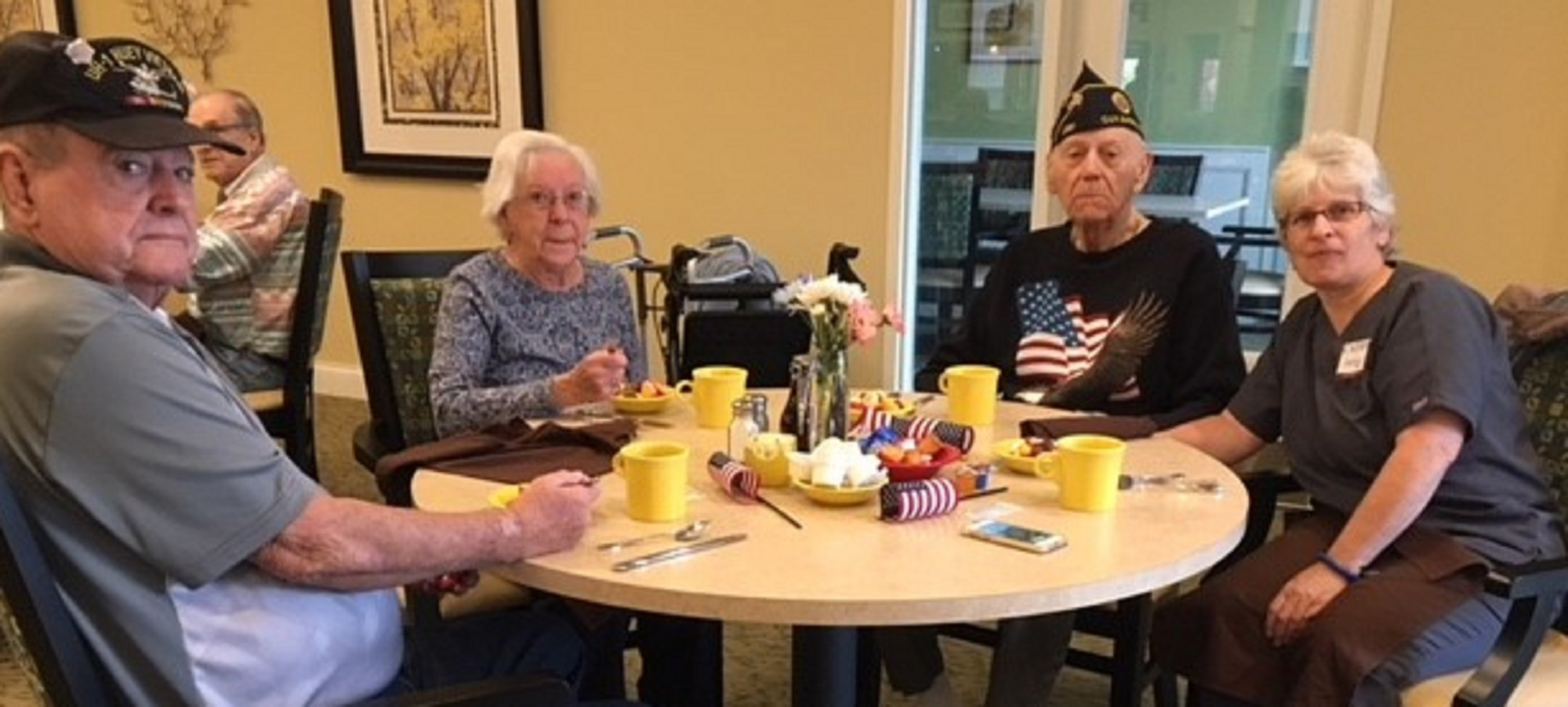 Veteran's Breakfast at Danbury Tallmadge