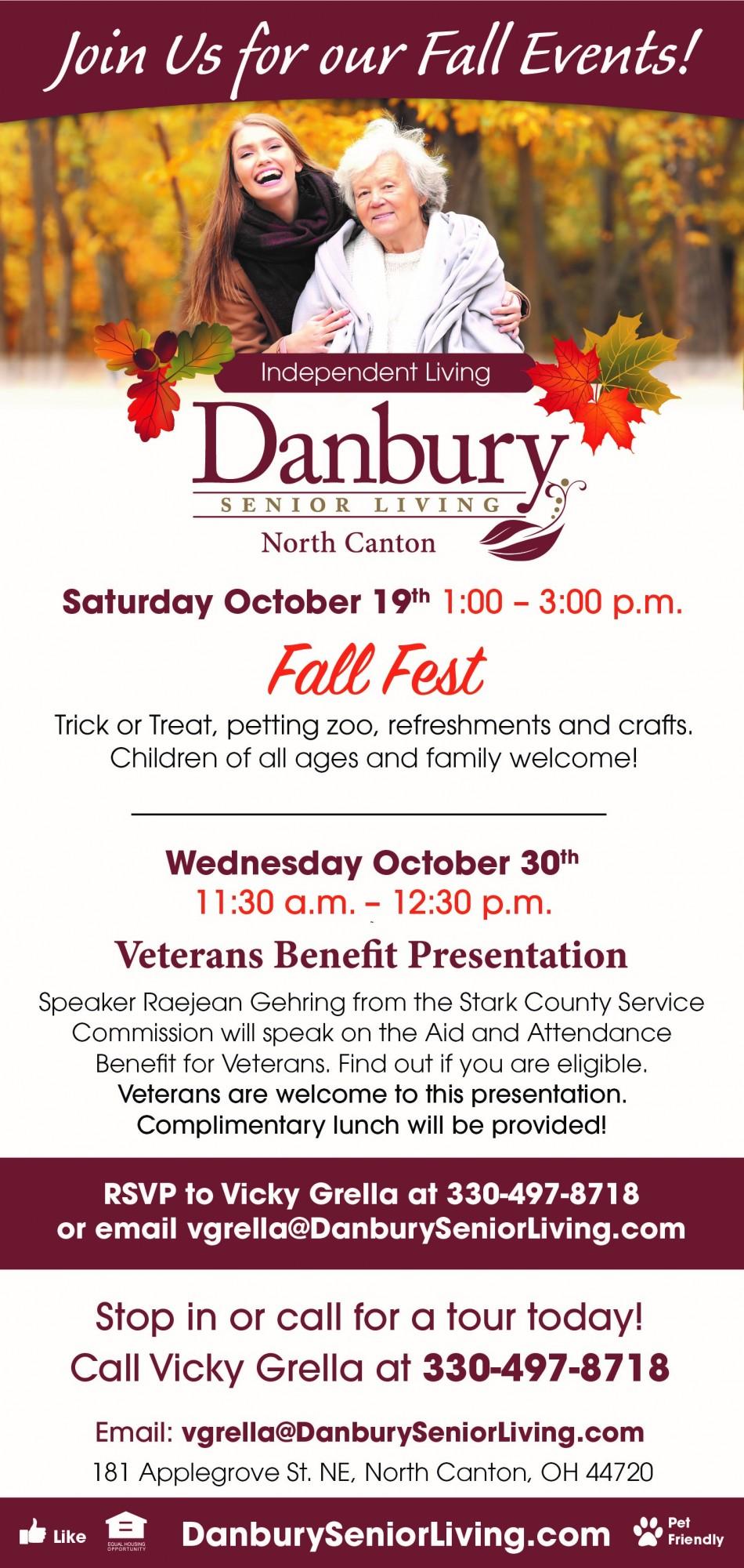 Fall Fest Danbury Assisted Living