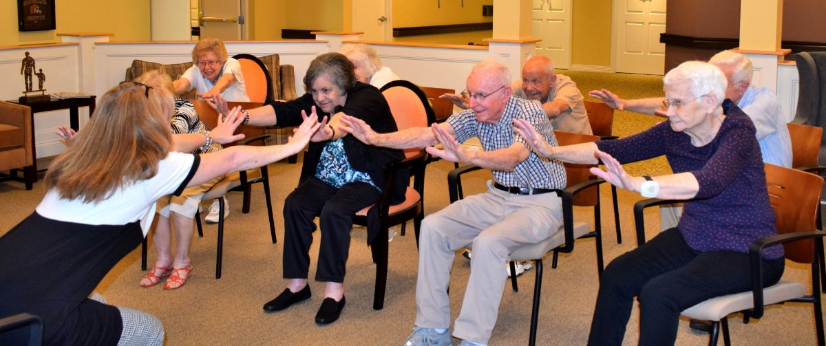 Danbury Introduces Wellness Program Designed for Residents with Parkinson's Disease