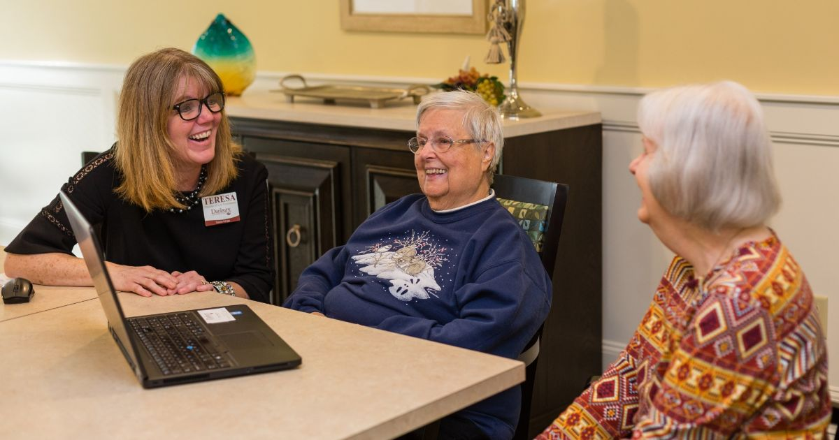 Why Choose Danbury Senior Living? An Opportunity to Grow