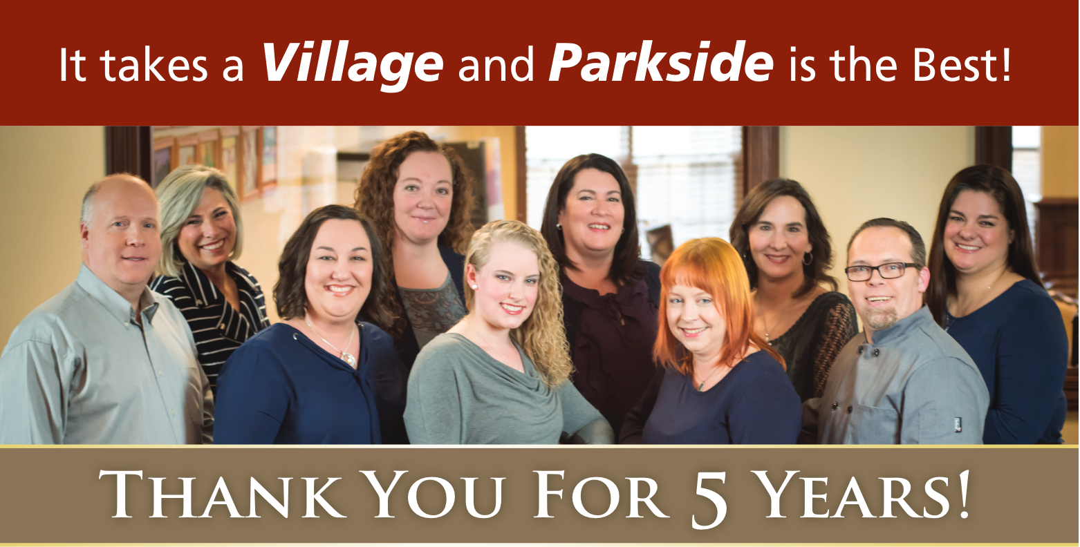 Parkside's 5 Year Anniversary