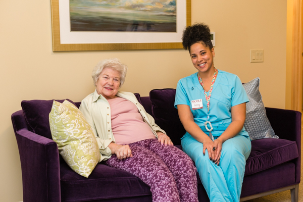now hiring resident companions | build your resume with entry level positions at Danbury Senior Living