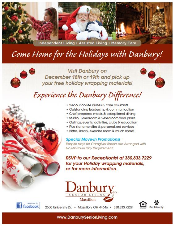 Come Home For The Holidays With Danbury Danbury